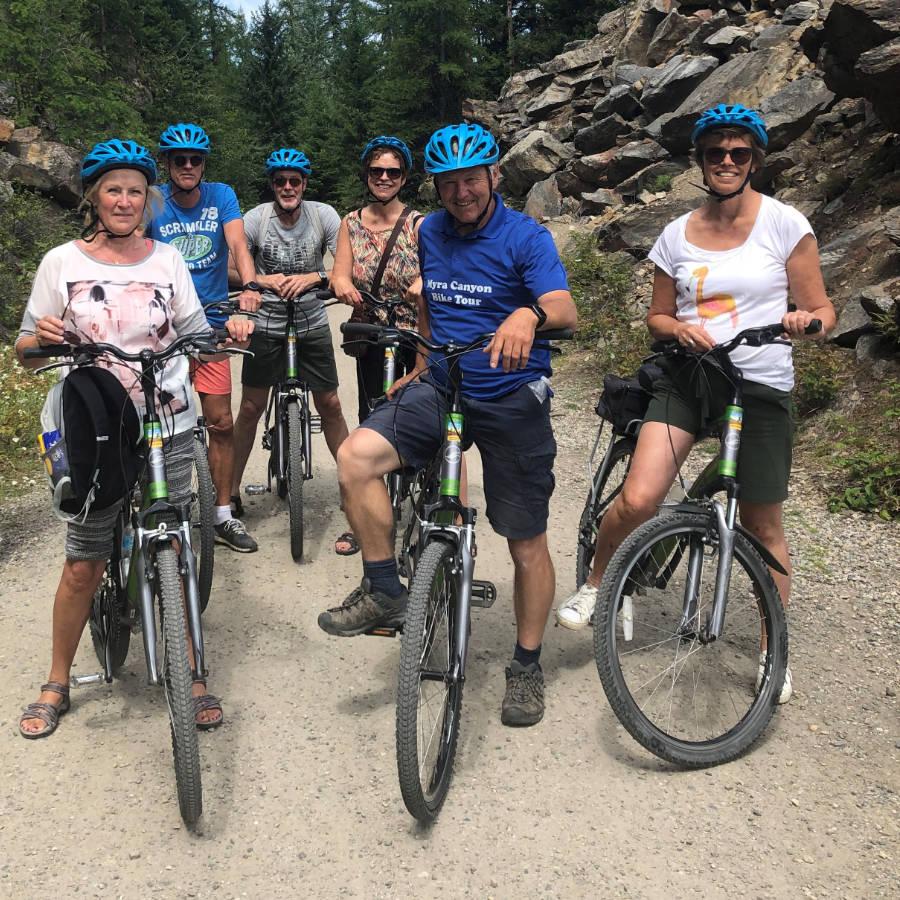 Ben Vos - Myra Canyon Bike Rental