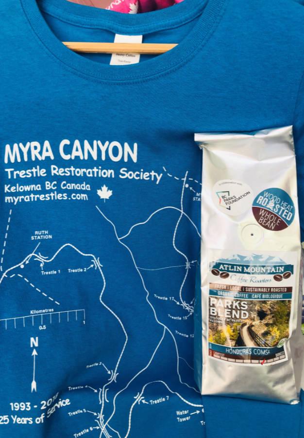 Myra Canyon concession stand