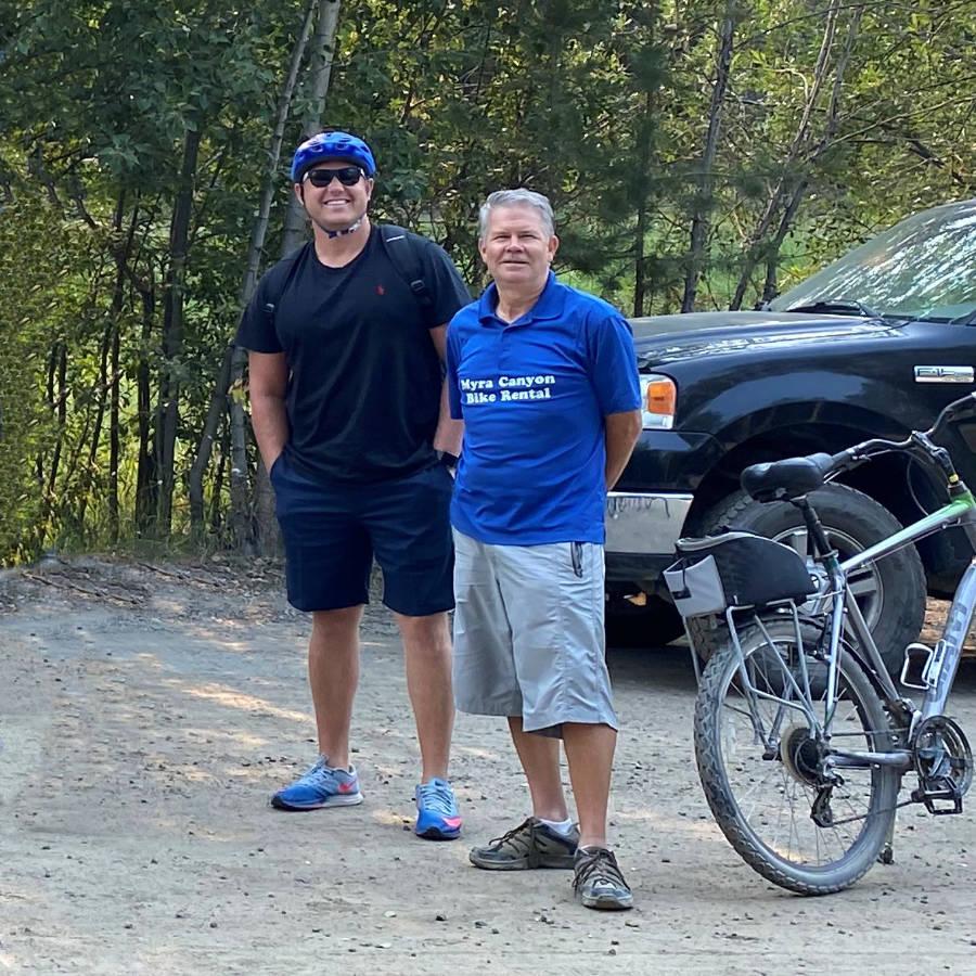 Keith - Myra Canyon Bike Rental